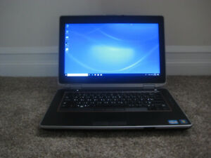 "14"" Dell Laptop, 2.70GHz Intel i7, 256GB SSD, 6GB RAM, DVD Drive"