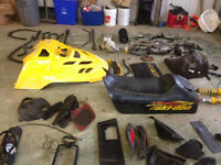 Ski Doo ZX Chassis Snowmobile Parts