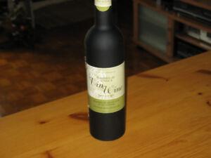 Bouteille de service à vin