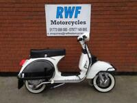 LML STAR DELUXE 125 SCOOTER, 2 STROKE MANUAL 4 SPEED, 2004, ONLY 5888 MILES, VGC