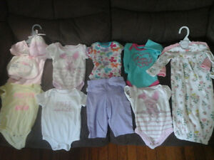 Baby girl clothes size 0-3