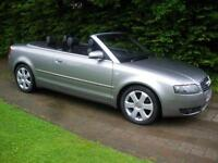 AUDI A4 TDI, Grey, Auto, 96K, Diesel, 2004 Convertible