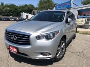 2014 Infiniti QX60 AWD 360 camera,Navi,DVD, 12 years in the same