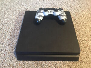 PlayStation 4 slim with Camo controller