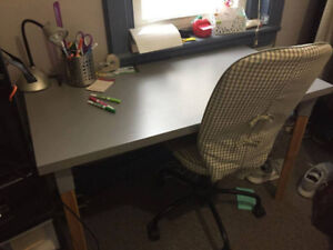 Desk & Office Chairs (2)