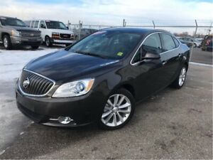 2015 Buick Verano Leather-NAV-S/ROOF-LOW KMS