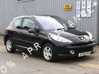2007 PEUGEOT 207 1.4 16V Sport 3dr 0 finance offer on this car