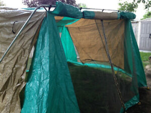 Camping Dining Screen Tent with Flaps