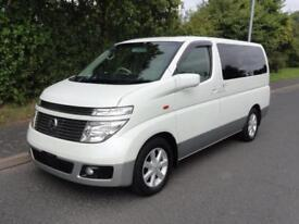 2004 Nissan Elgrand 3500 XL TOP SPEC FRESH IMPORT 5dr