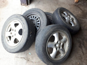 Ford rims and tires.