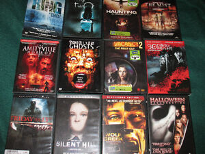 Halloween dvd's.....open to offers