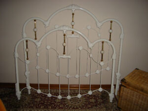 Queen size Wrought Iron Head and Foot Board