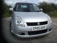 2005 05 SUZUKI SWIFT 1.5 GLX VVTS 5D 101 BHP