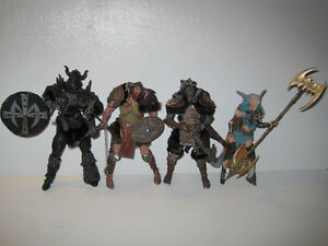 mcfarlane spawn viking figurines