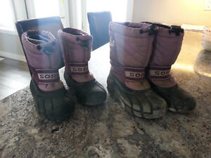 Size 12 and 13 Sorel Boots