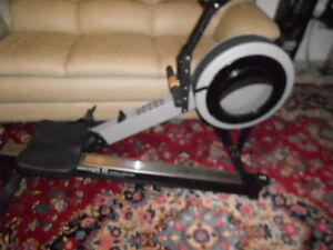 Concept 2 model C with PM2 rowing machine