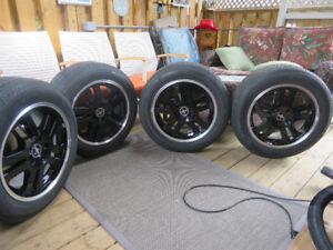 17in Rims and Tires