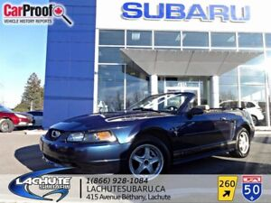 Ford Mustang CONVERTIBLE   WOW 76000 KM CUIR 2001