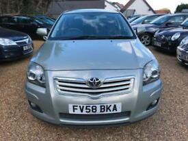 2008 Toyota Avensis 2.0D-4D 2007MY TR - FULL SERVICE HISTORY