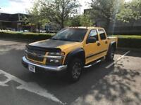 2008 58 CHEVROLET COLORADO 3.5 PETROL AUTO