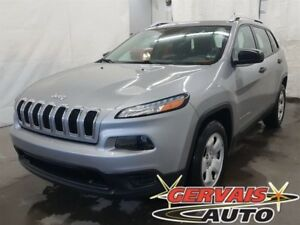 Jeep Cherokee Sport A/C Volant chauffant Bluetooth 2014