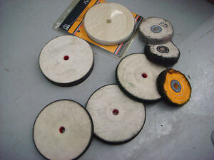 Polishing, Buffing wheels, Wire wheel