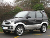 2005/55 DAIHATSU TERIOS 1.3 SPORT AUTOMATIC - ONLY 36000 MILES !!