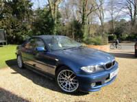 "2003 03 E46 BMW 325 Ci Sport CONVERTIBLE 2.5i 6 CYLINDER 24V 192 BHP 18"" FSH"