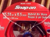 Snap On hybrid air hose. $35. Brand new sealed package.
