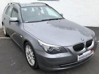 2008 08 BMW 5 SERIES 3.0 525D SE TOURING 5D 195 BHP DIESEL