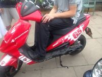 Moped 50cc does run