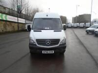 Mercedes-Benz Sprinter 314cdi MWB High Roof Van DIESEL MANUAL WHITE (2016)
