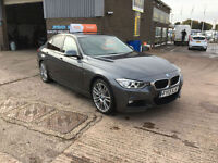 2013 BMW 320D M-SPORT X-DRIVE 4X4 STOP/START SALOON,ONLY 41000 MILES WARRANTED