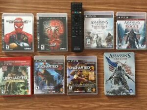 Télécommande, Spider-Man 3, Web Shadow, Assassins Creed