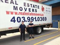 Local,long distance moves.From $65/h.403 991 0369.Calgary based.