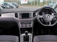 2016 Volkswagen Golf 1.6 TDI 110 SE 5dr Hatchback Diesel Manual