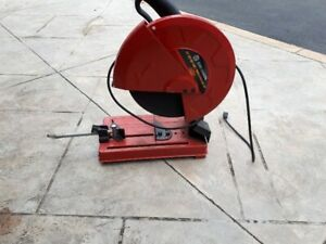 "14"" Metal chop saw"