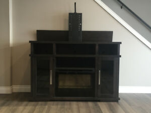 Entertainment/Tv Stand with Fireplace