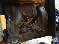 Haix military boots size 7