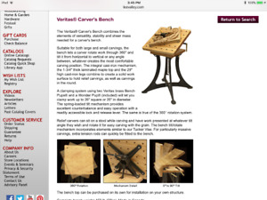 Woodcarving Table