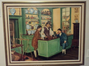 Vintage Apothecary Paintings