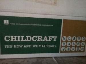Childcraft World books  17 volumes, How and Why library .