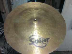 solar by sabian  chinese   14 pouces