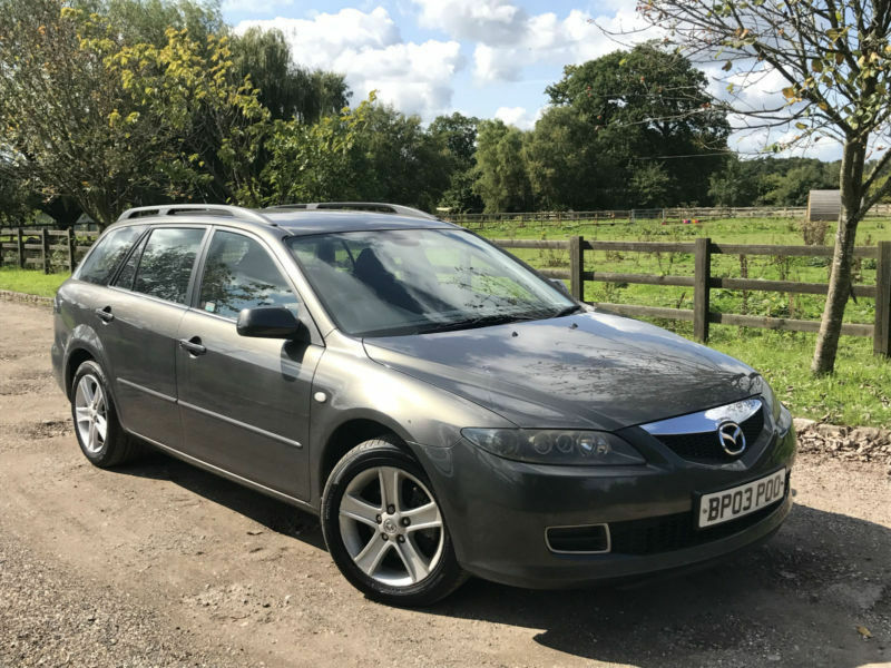 mazda 6 2 0 ts 2006 estate tow bar sept 2018 mot in. Black Bedroom Furniture Sets. Home Design Ideas