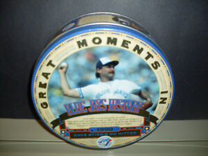 Great Moments In Blue Jays History Collector Tin Dave Stieb, etc