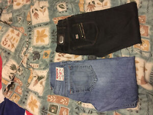Must see!!! True religion and Gucci one of each !! Size 32-34