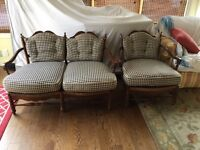 Drexel French Country Loveseat & Chair - Downsizing Sale