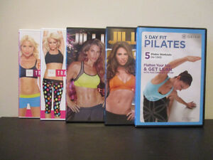 5 DVD's – Fitness Collection
