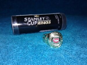 Molson Canadien Stanley Cup Rings Habs and Leafs