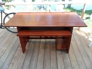 Beautiful Solid Wood Desk with slide out